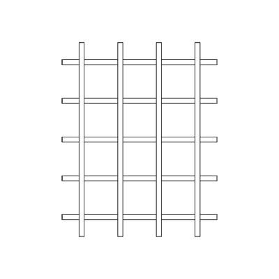 Grid Bar Back