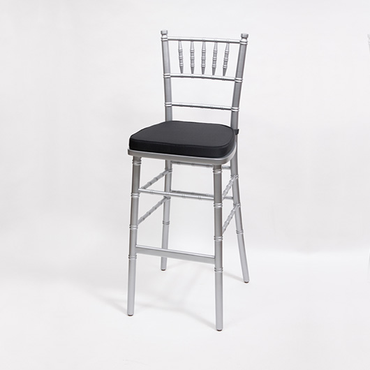 Silver Chiavari Bar Stool