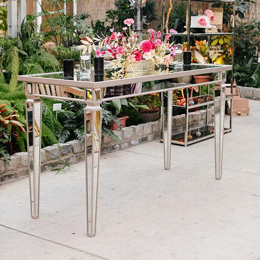 Tall Mirror Tables