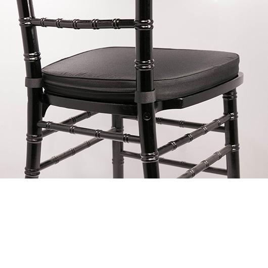 Black Poly-Twill Cushion