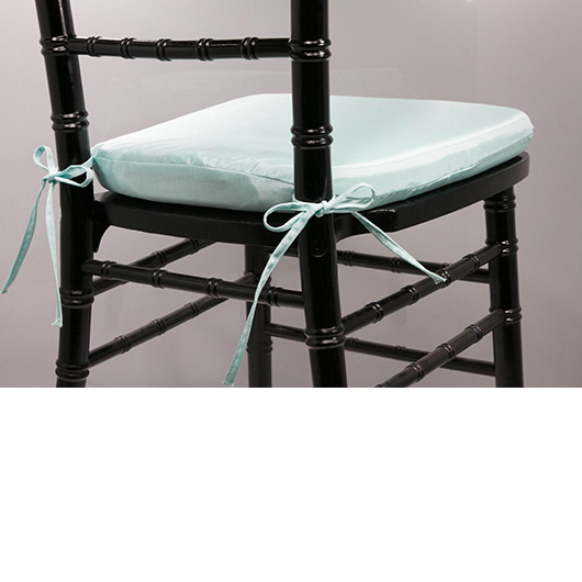 Aqua Chiavari Cushion