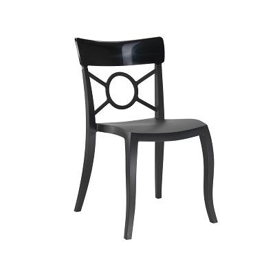 Black Tuxedo Chair