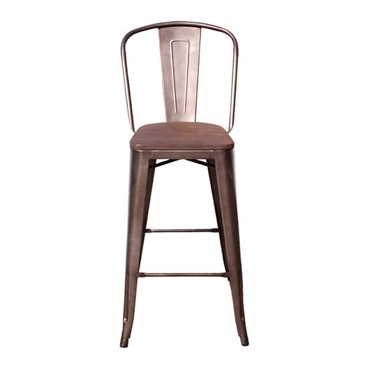 Chelsea Tobacco Bar Stool