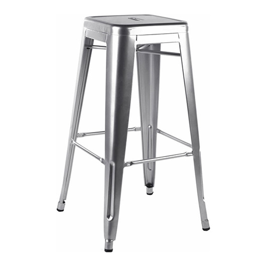 Chelsea Nickel Stool