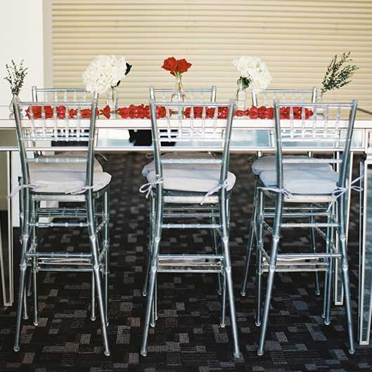 Clear Chiavari Bar Stool