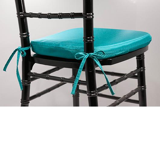 Teal Chiavari Cushion