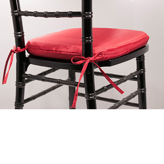 Crimson Chiavari Cushion