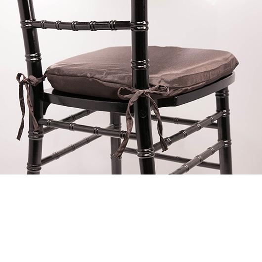 Dark Brown Chiavari Cushion