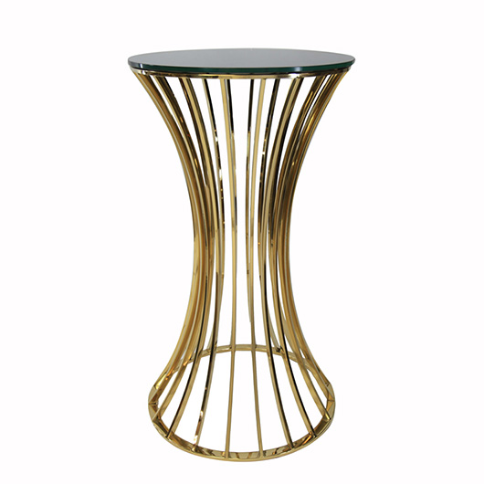 Gold Dorsia Cocktail Table