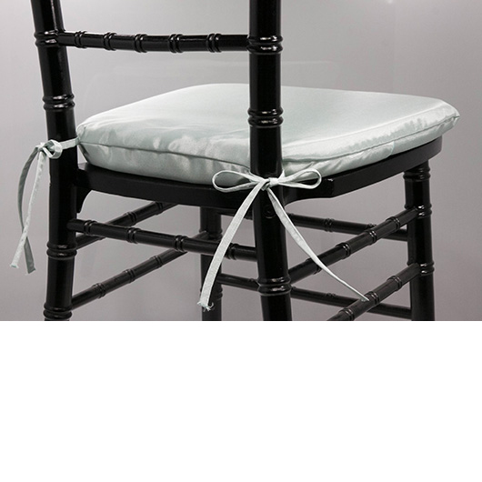 French Blue Chiavari Cushion