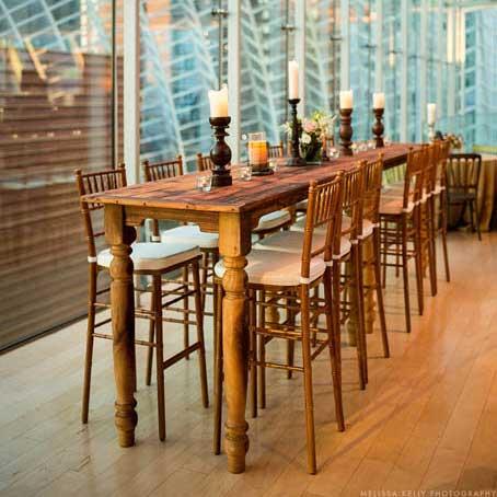 Tall Farm Tables