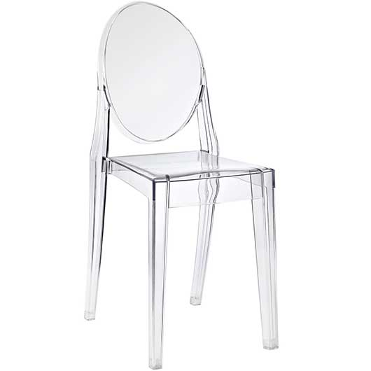 Clear Ghost Chair