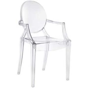 Clear Ghost Armchair
