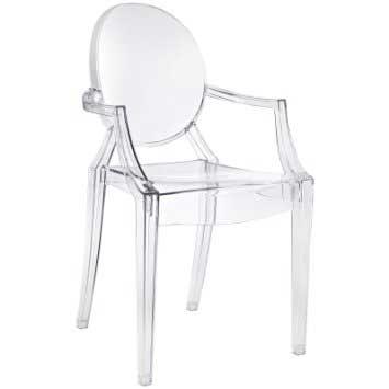 Clear Ghost Armchair