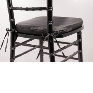 Black Chiavari Cushion