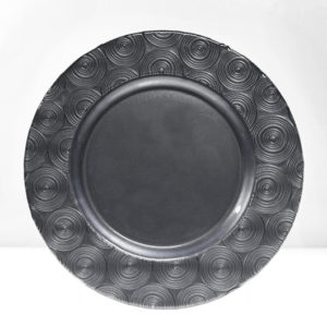 Moonlight Pewter Charger