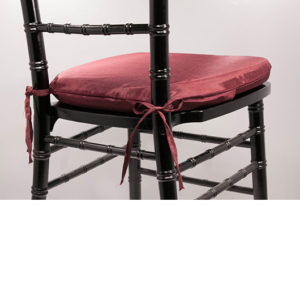 Burgandy Chiavari Cushion