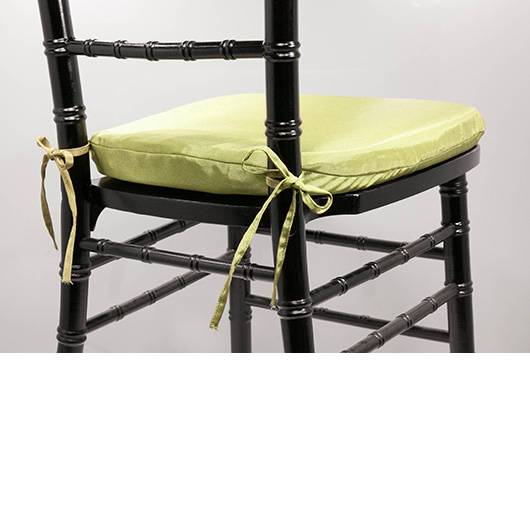 Pea Green Chiavari Cushion