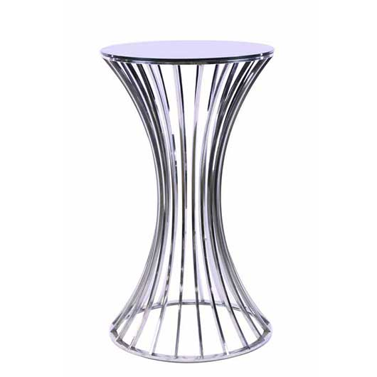 silver cocktail table - VF