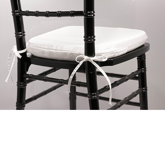 Ultra White Chiavari Cushion