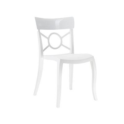 White Tuxedo Chair