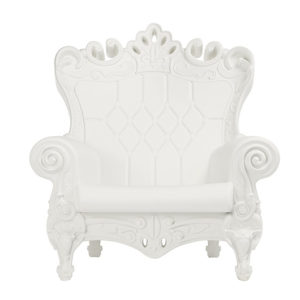 White Romeo Chair