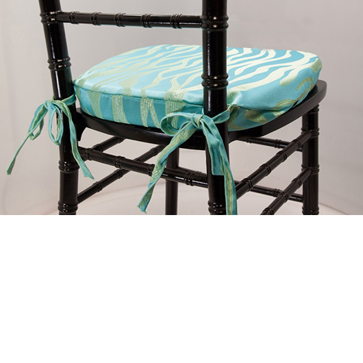 Aqua Lava Chiavari Cushion