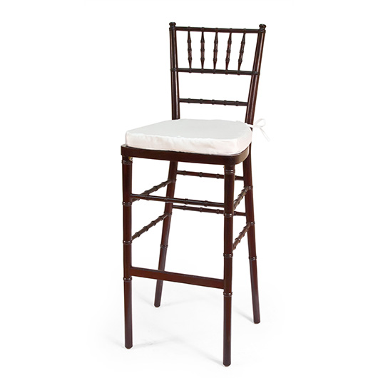 Mahogany Chiavari Bar Stool