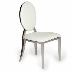 Silver Oscar Chair