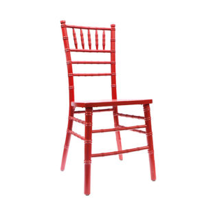 Red Chiavari Chair