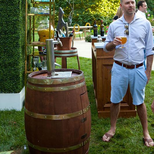 Wine Barrel Keg