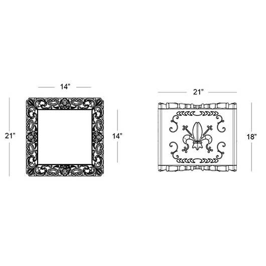Verona Display Cube