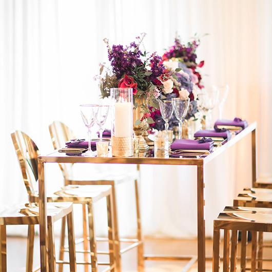 Dorsia Gold Community Table
