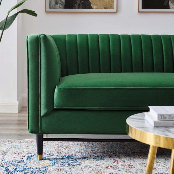 Elliot Sofa - Emerald Green