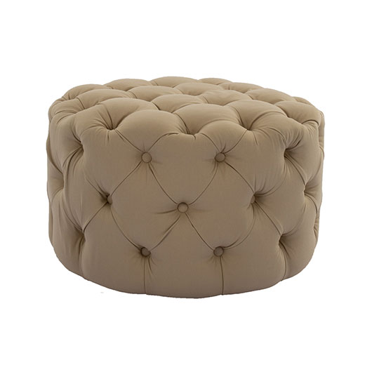Renne Ottoman - Taupe