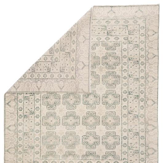 Floral Medallion Rug 6x9