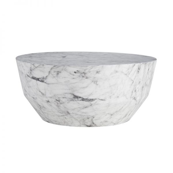 Marble Drum Table